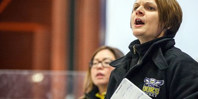 Deanna Iwanicka, formerly of the NAIT Ooks, was named head coach of the WIndsor Lancers women's hockey team on 16 July 2018.Photo courtesy of Lancers Athletics.