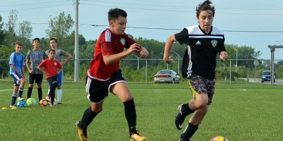 Windsor TFC Academy hosted a series of ID camps for the U14 boys team at the McHugh Soccer Complex in August 2018.Photo by Ian Shalapata.