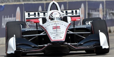 Josef Newgarden won Race 1 of the doubleheader at the 2019 Detroit Grand Prix on the Belle Isle Street Circuit in Detroit, Michigan, on 1 June 2019. Ian Shalapata.