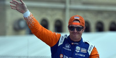 Scott Dixon won Race 2 at the Belle Isle Circuit in Detroit on 2 June 2019. It was his third victory at the track and the 45th IndyCar win of his career.Photo by Ian Shalapata.