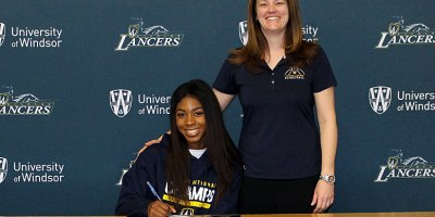 "Lancers head coach Chantal Vallée annoucned the signing of 5' 8"" forward Yasmeen Smith to the women's program for the 2018-19 season.Photo courtesy of Elisa Mitton/Windsor Lancers."